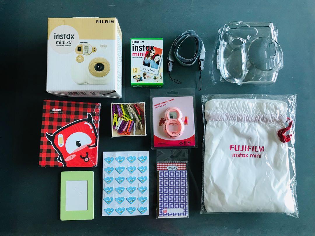 「全新」富士Fujifilm instax mini 7C milky立可拍