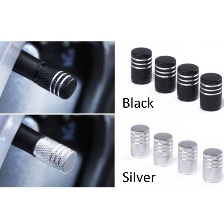 GREAT OFFER!! Premium 4 Pieces Auto Car Wheel Aluminium Alloy Tyre Tire Caps