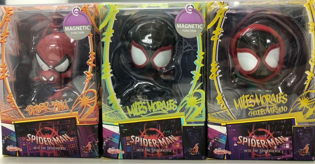 Hot Toys Cosbaby Spider-man Into The Spider-verse 蜘蛛俠
