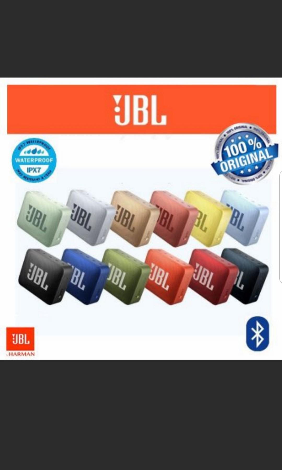 JBL GO 2 BRAND NEW