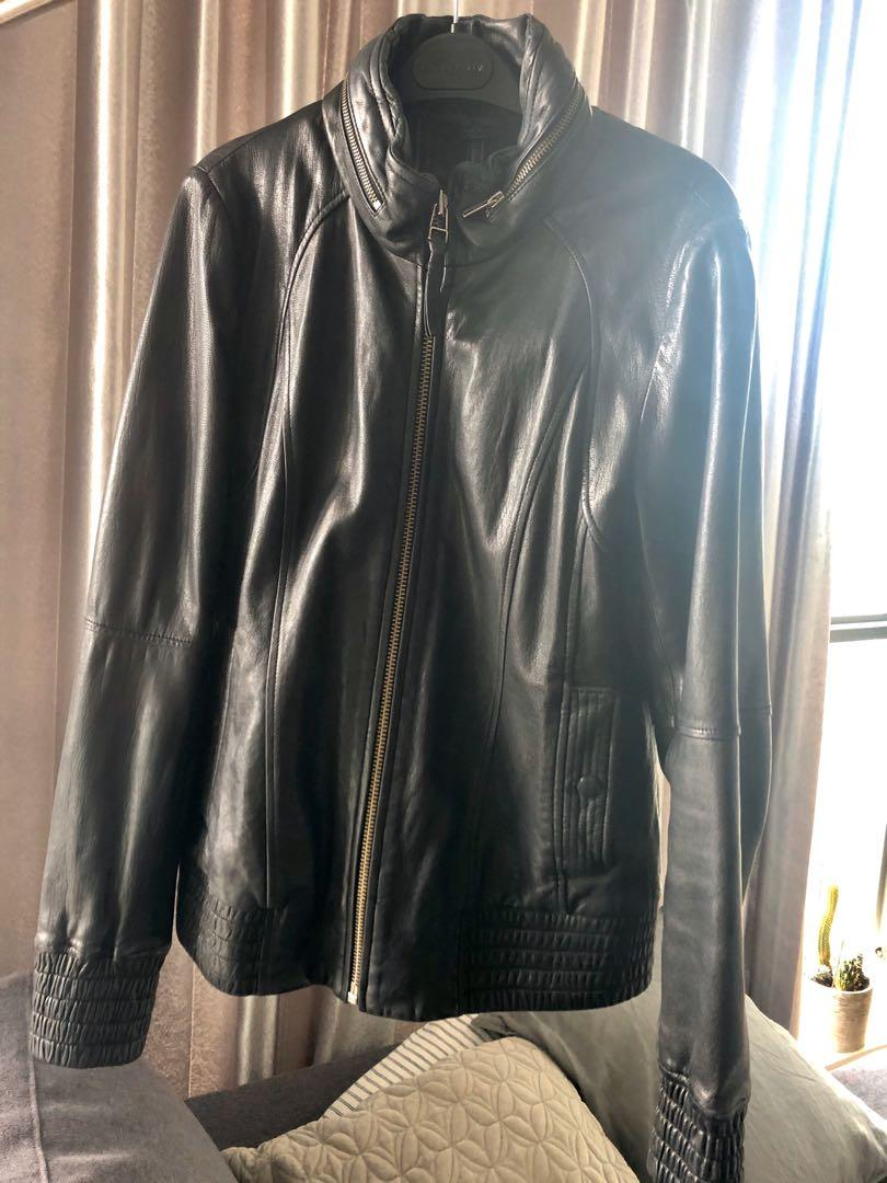Mackage Leather Jacket - Large - Excellent Condition