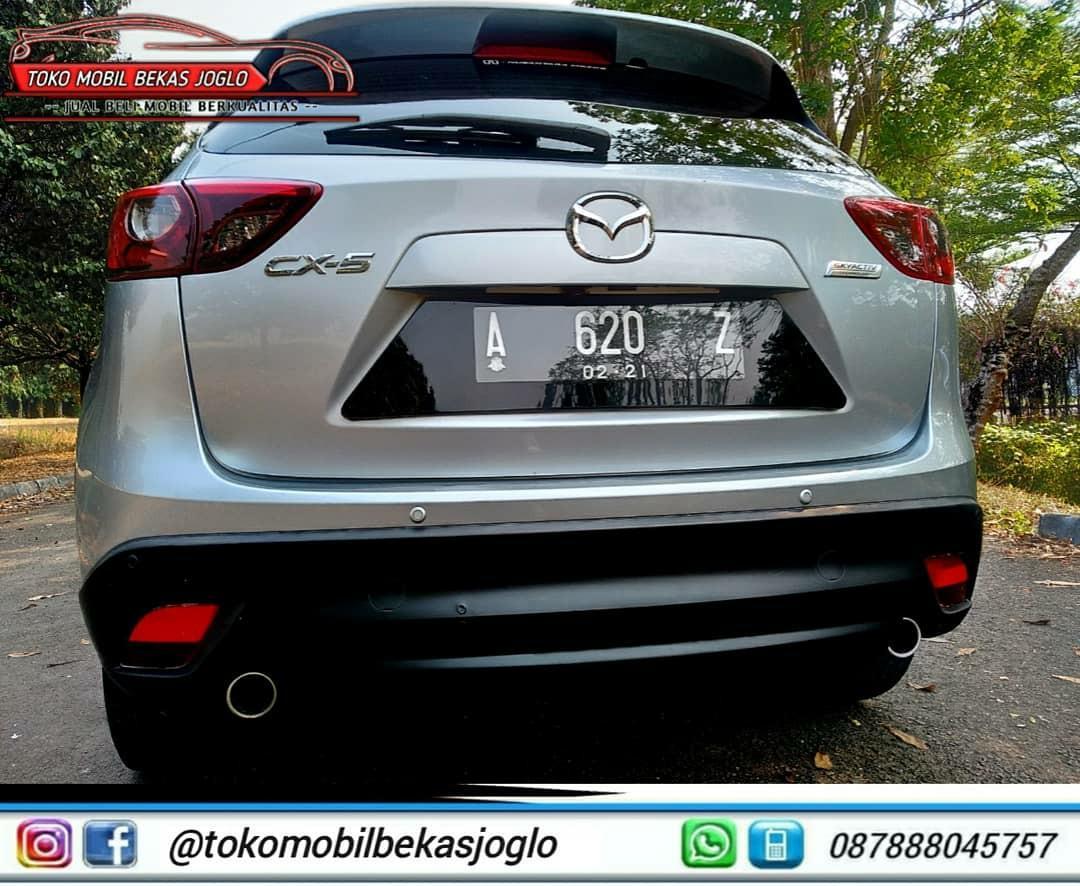 MAZDA CX-5 2.5 GT SKYACTIVE 2016 SILVER DP 25jt,Mobil Siap Pakai