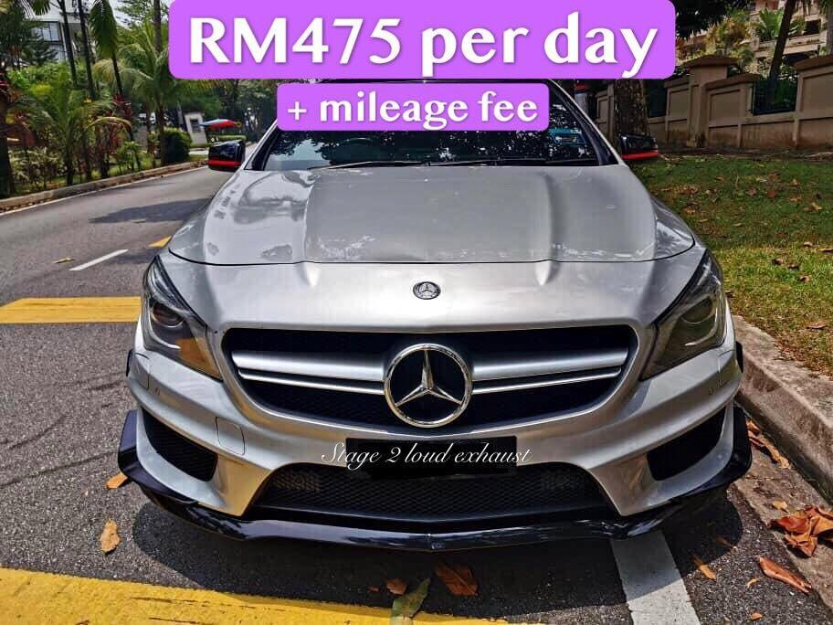 Mercedes CLA45 Amg for rent