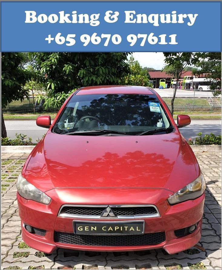 Mitsubishi Lancer EX @ Best rates, full servicing provided!