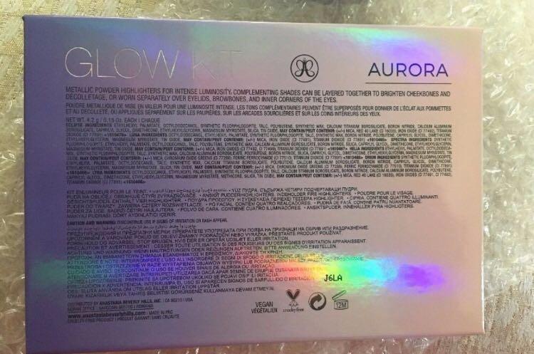 NEW IN BOX - AUTHENTIC AND UNOPENED - BRAND NEW - ANASTASIA BEVERLEY HILLS GLOW KIT - AURORA