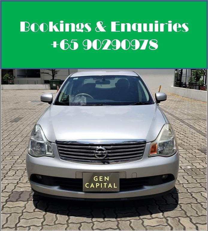 Nissan Sylphy 1.5A - Your preffered rental, With the Best service!