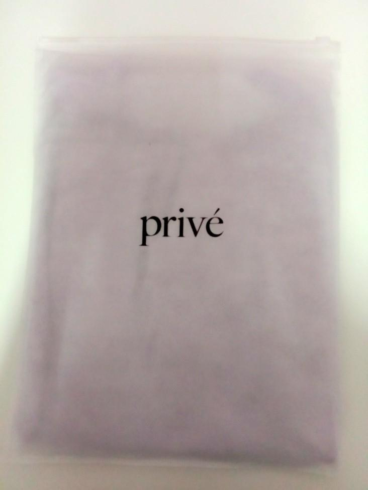 Prive Contax Tee Purple Woman M size