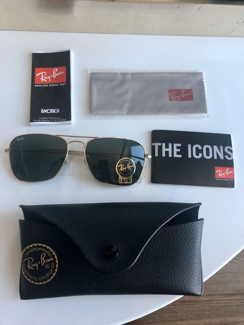 Ray-Ban Caravan Sunglasses *Original packaging never worn*