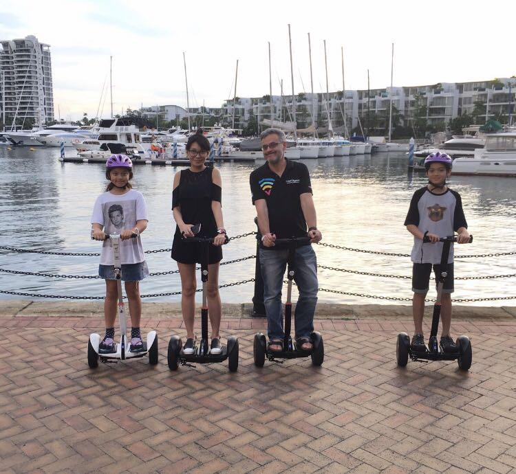 Segway trainer/E scooter crew