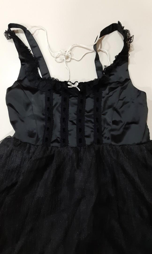 Sheer gothic lolita op