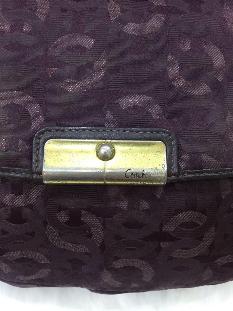 Shoulder bag coach authentic