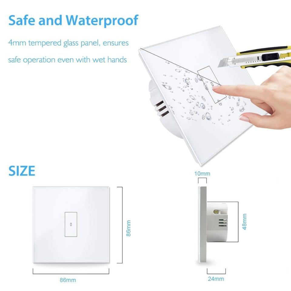 Smart WiFi Switch - 20A - Smart Home Automation