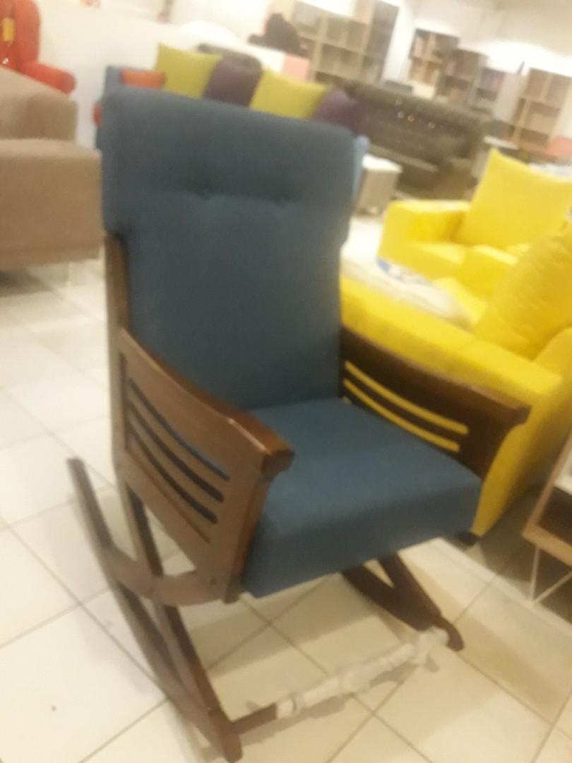 Solid Wooden frame Rocking Chair