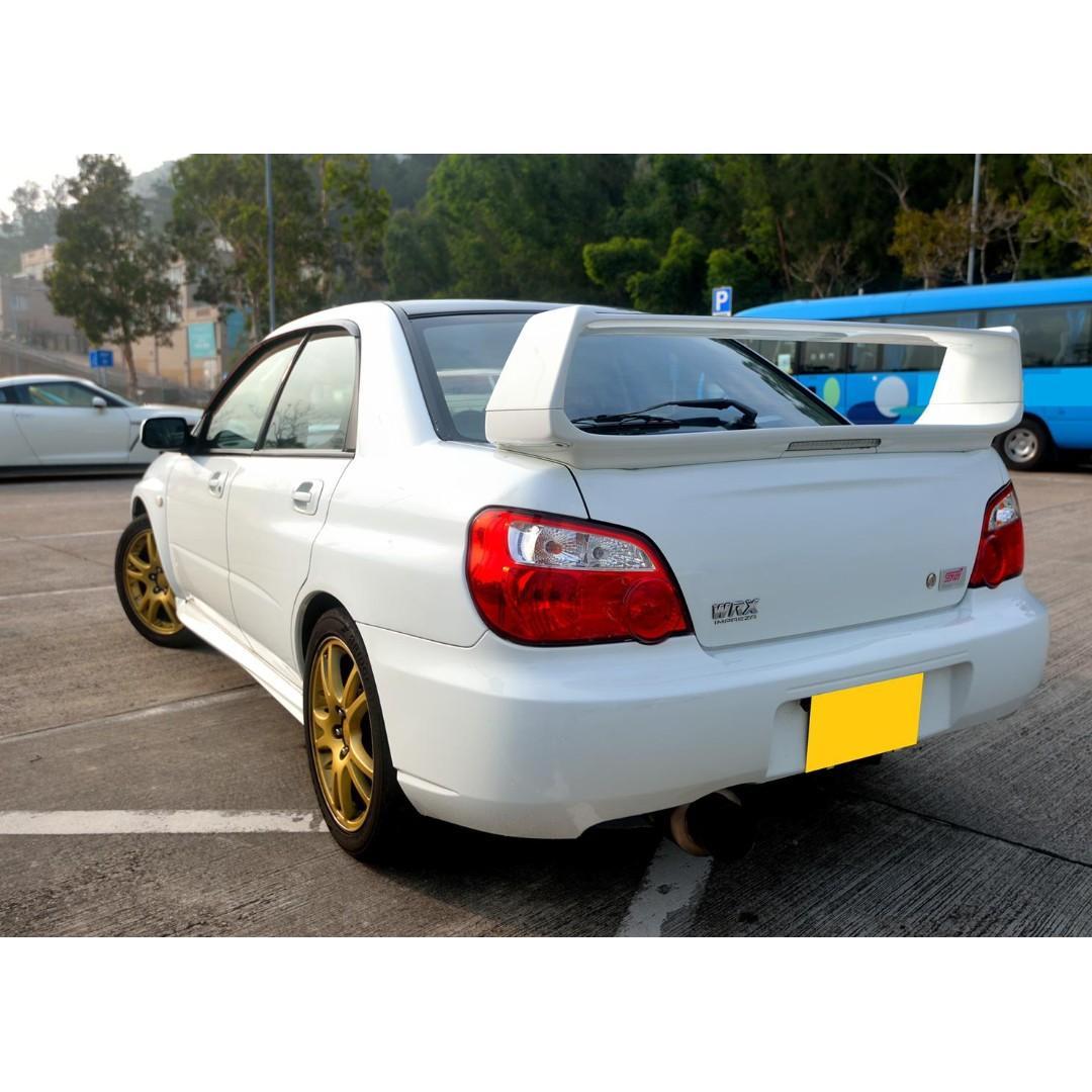 SUBARU IMPREZA WRX STI JDM V8