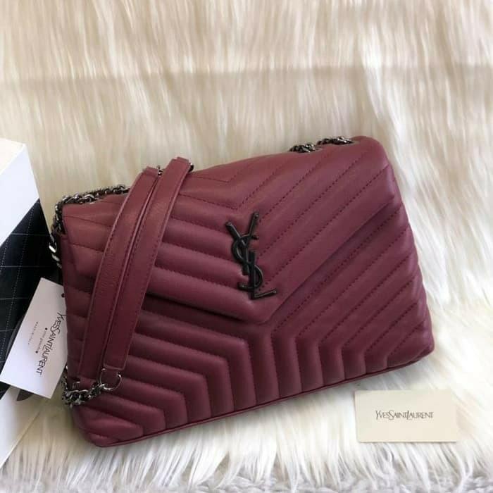 tas ysl berbagai model niki lambskin clutch sling shoulder bag grade premium hk