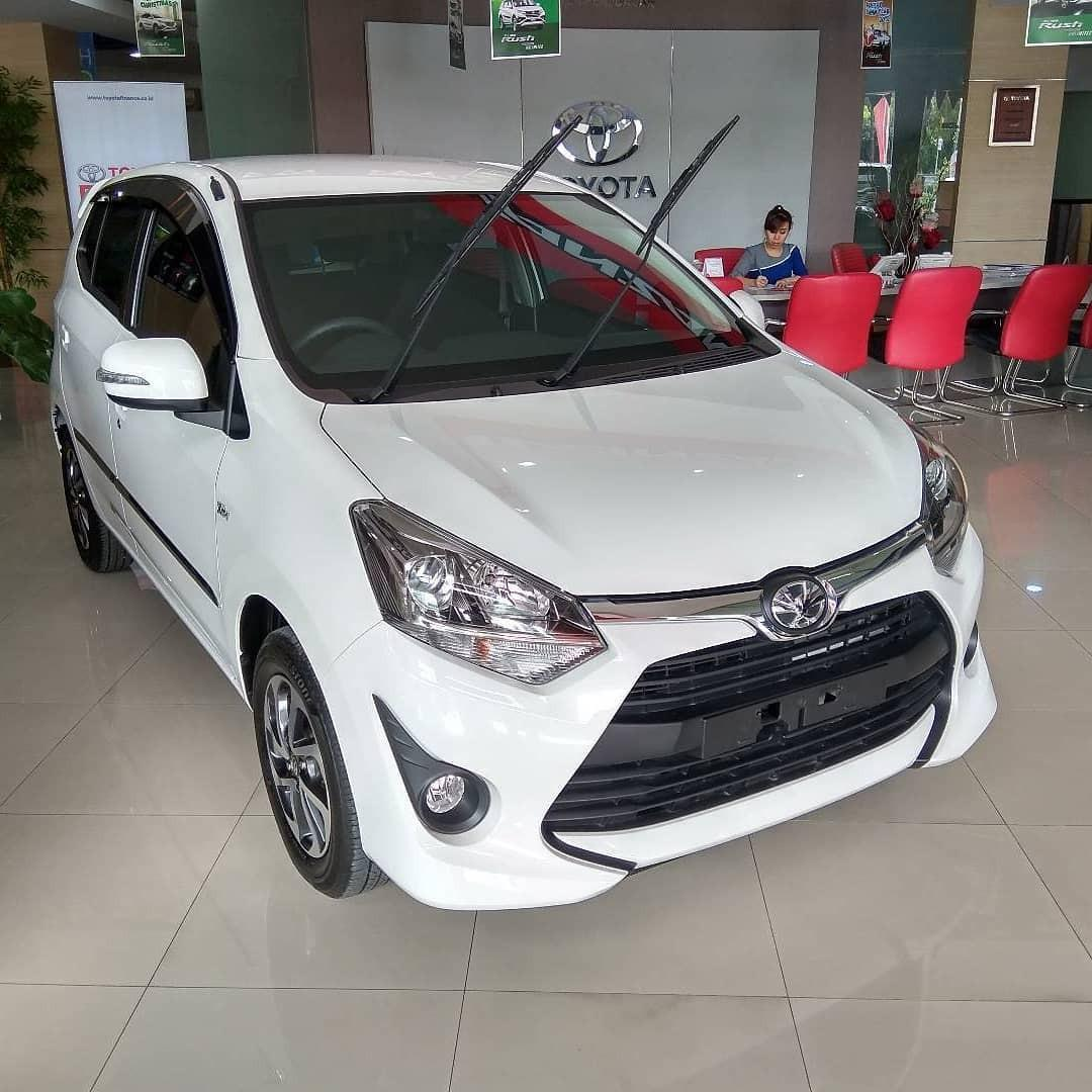 Toyota Agya G MT DP 8 juta | Agya G MT TRD DP 9 juta