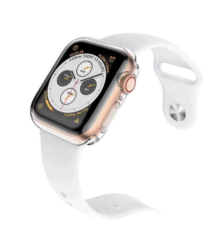 UNBEATABLE DEAL!! Apple Watch Hard Clear Case for All Series and Sizes