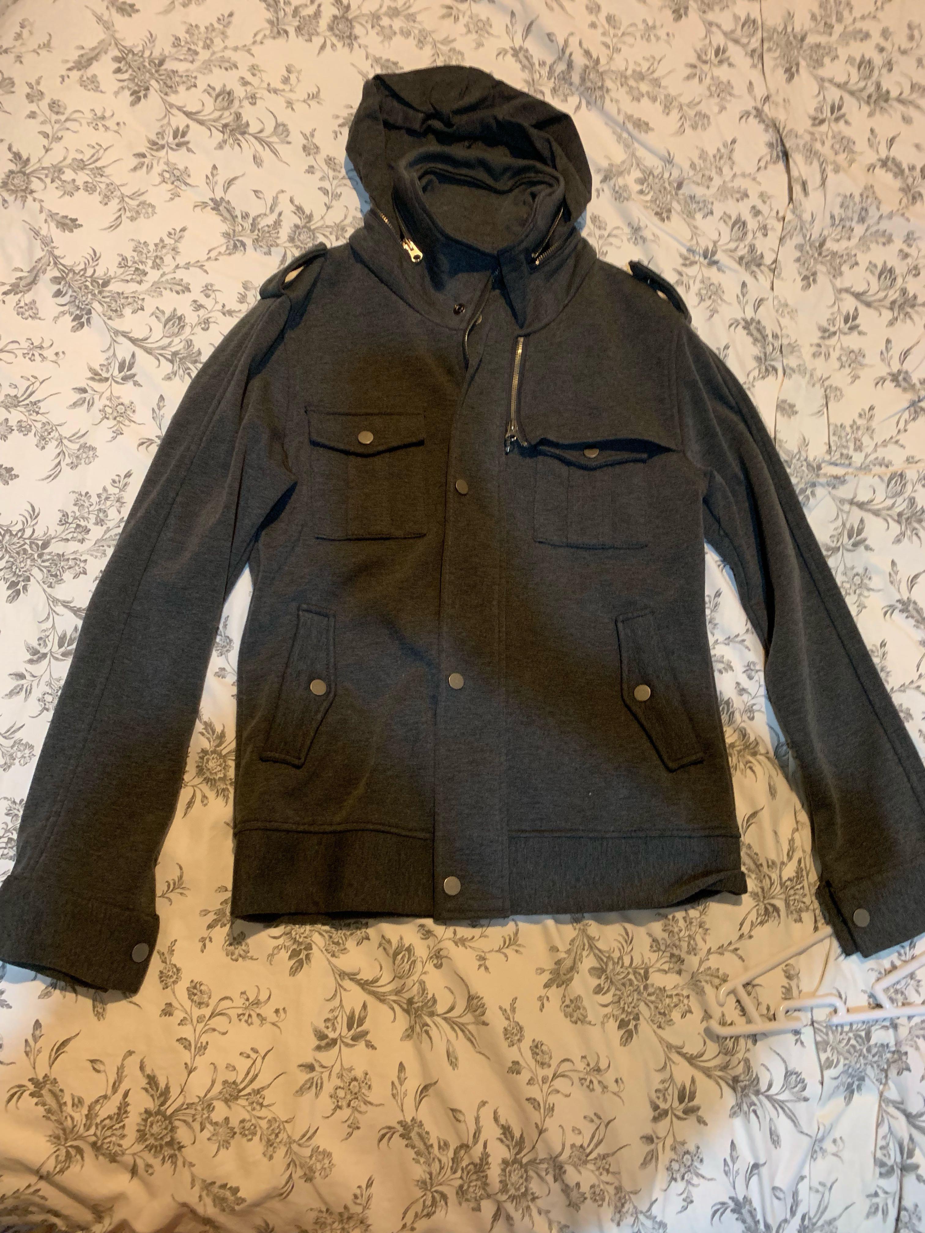 Utility Jacket with Hood (BN) #MRTRaffles #MRTTampines