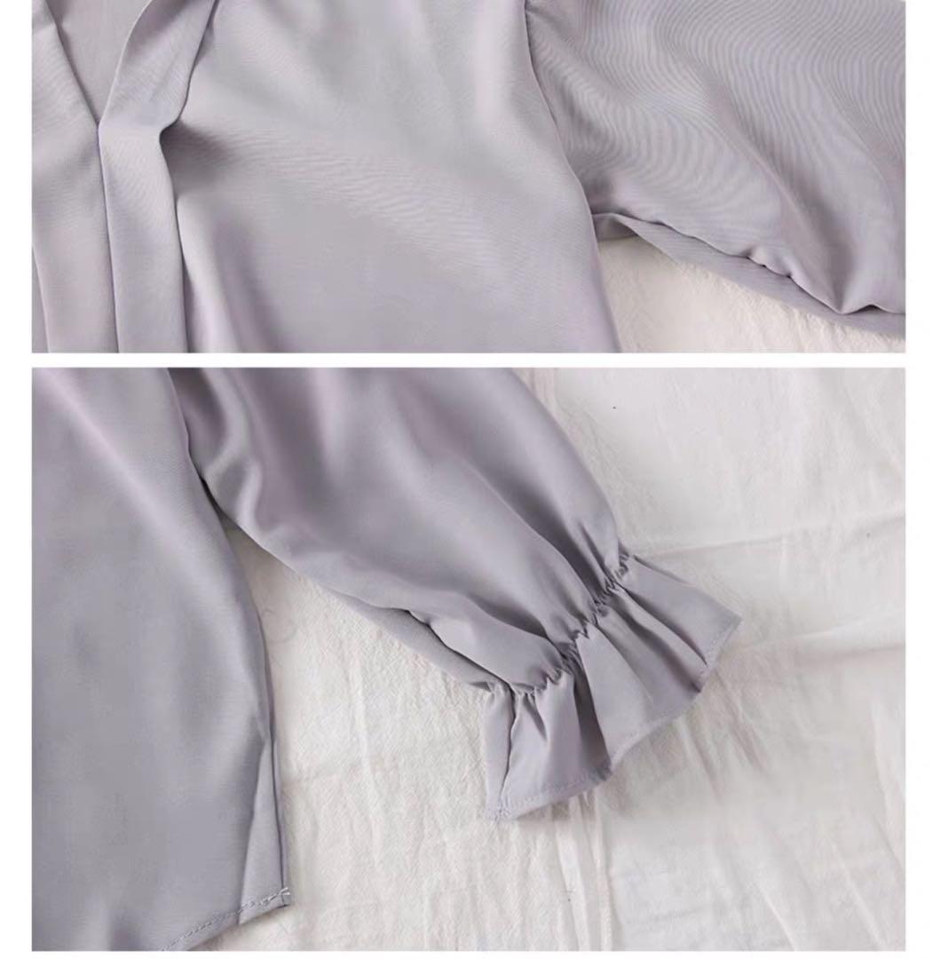 ▫️簡單V領襯衫-5色
