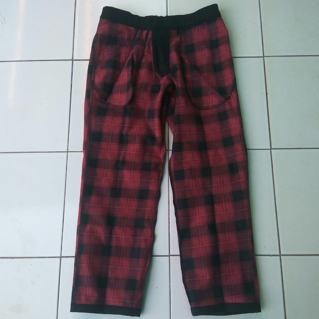 Warm Lined Pants - mountain pants - celana gunung