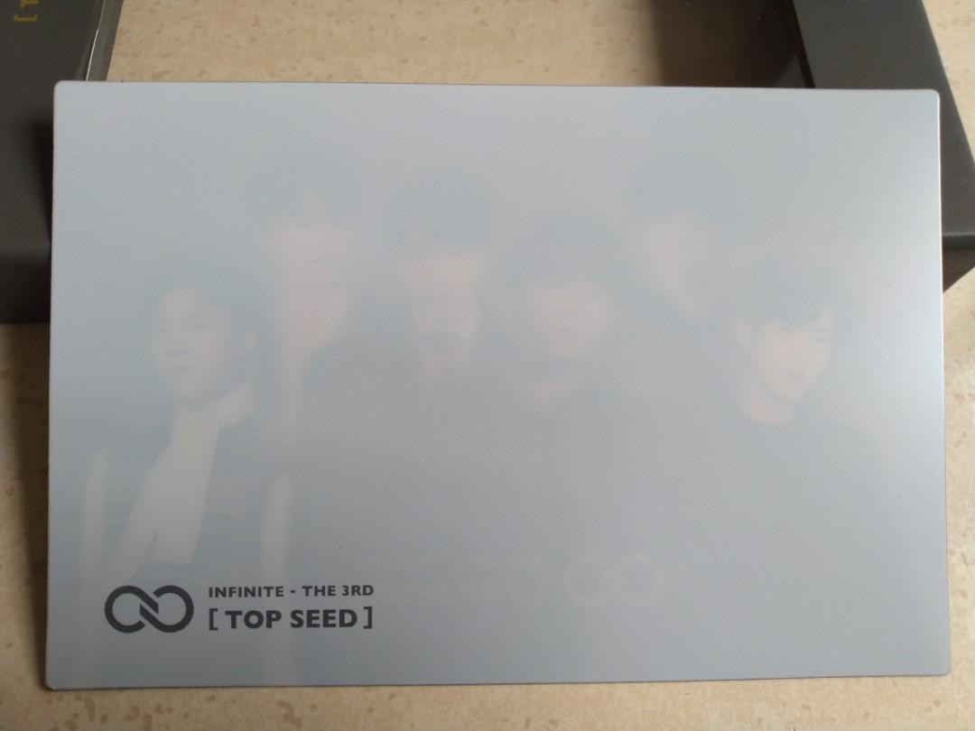 [WTS] INFINITE - TOP SEED Group lenticular postcard