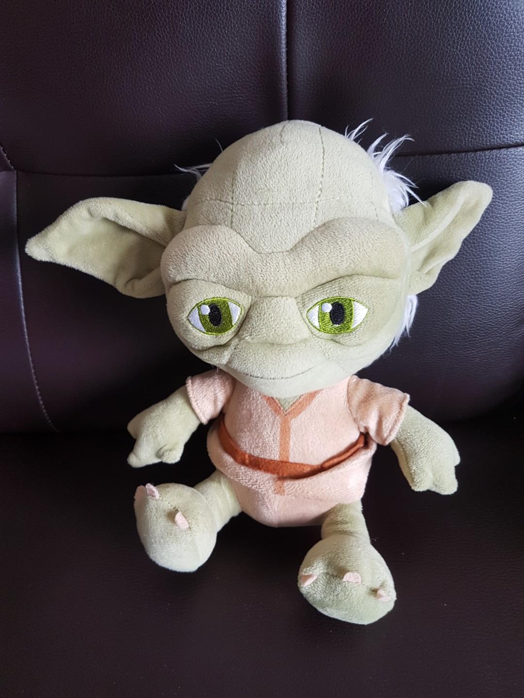 Yoda star war soft toy
