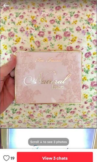 too faced pallets
