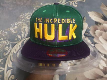 Snapback Cap The Incredible Hulk New Era