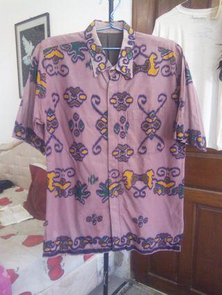 Baju Batik atau Kemeja Pria Ukuran : XL