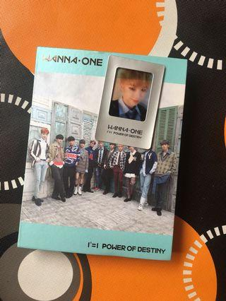 "Wanna One album ""Power of Destiny"""