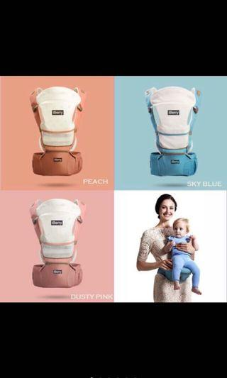 iBerry Hip Seat (Pink) 9in1 Carrier