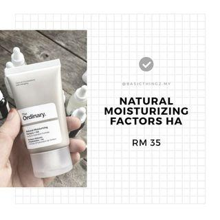 ✨ READYSTOCK✨ The Ordinary Natural Moisturizing Factors + HA
