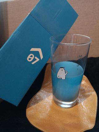 0146 水杯 很可愛 玻璃