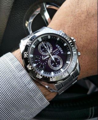 Seiko Criteria Chronograph Watches