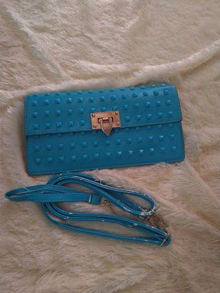 Cluth V*lentino small blue