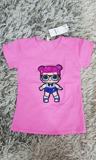 Kaos Anak Perempuan NEW