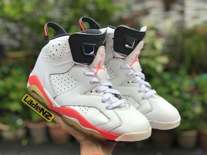 Nike Air Jordan 6 Infrared White