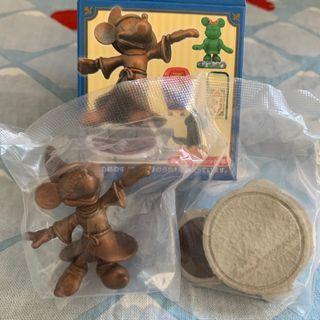 迪士尼樂園 米奇 銅像 盒玩 日本