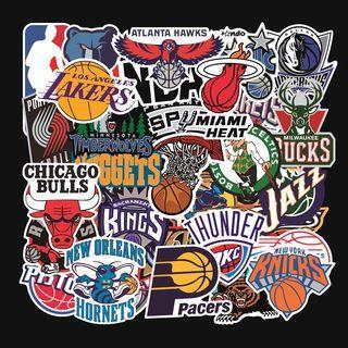 32pcs NBA decal vinyl stickers bomb