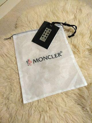 Moncler Drawstring Pouch with Tag