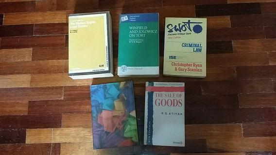 Adult book - Law Books