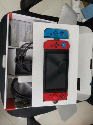 Nintendo Switch Mario unpatched