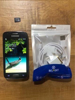 [售] SAMSUNG GALAXY Ace 3 智慧型手機 [價格]800 [物品狀況]2手     [交易方式]面交自取 7-11或全家取貨付款 [交易地點]台南市東區     [備註]無盒裝/旅充/記憶卡2GB [匯款帳號]合作金庫[006]1232-872-051459