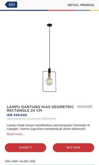 Lampu Gantung Informa