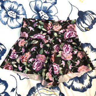 Nicola Floral Bikini Shorts