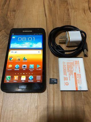 [售]SAMSUNG NOTE 1 16GB [價格]2000 [物品狀況]2手     [交易方式]面交自取 7-11取貨付款 [交易地點]台南市東區     [備註]無盒裝/旅充/電池×2/記憶卡2GB