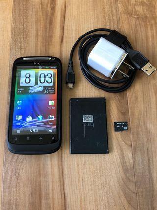[售]HTC DESIRE S S510e智慧型手機     [價格]1500    [物品狀況]2手    [交易方式]面交自取    [交易地點]台南市東區    [備註]無盒裝/手機/旅充/電池*2/記憶卡4GB [匯款帳號]合作金庫[006]1232-872-051459