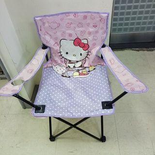 限自取 Hello kitty 方便攜帶 野餐椅 導演椅 摺疊椅 【日式二手店 大和堂】