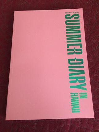 Blackpink Summer Diaries Photobook