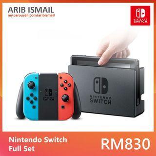 Nintendo Switch Full Set